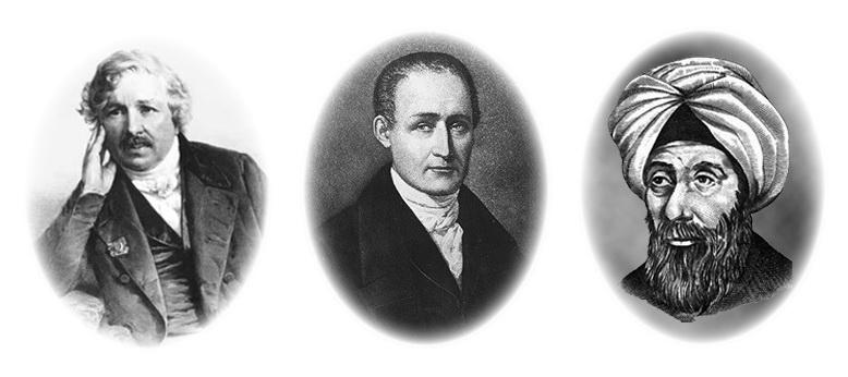 Nièpce, Daguerre y Alhazen